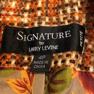 Larry Levine Skirts - Petite skirt suit set